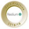 Resilium Gold Practice Award icon